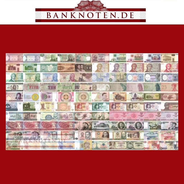 100-verschiedene-Banknoten-aus-aller-Welt-UNC-kfr