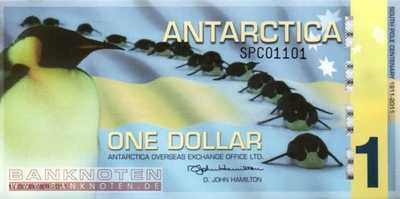 Antarctica - 1  Dollar - private issue (#028_UNC)