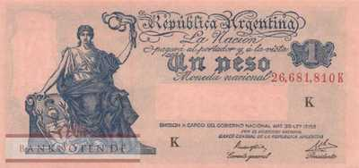 Argentina - 1  Peso (#251d_XF)
