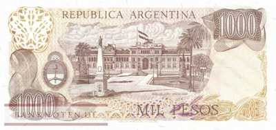 Argentina - 1.000  Pesos - Replacement (#304dR-U1_UNC)