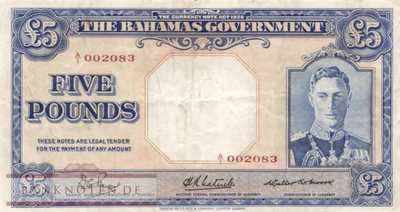 Bahamas - 5  Pounds (#012a_VF)