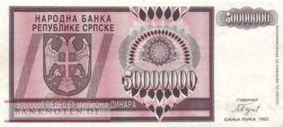Bosnia and Herzegowina - 50 Million Dinara (#145a_VF)