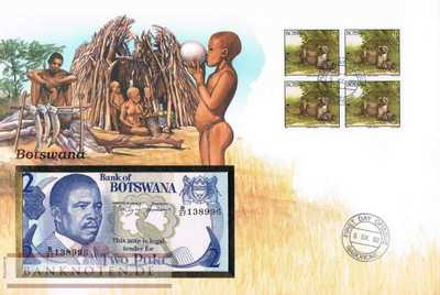 Banknote Cover Botswana - 2  Pula (#BTW01_UNC)