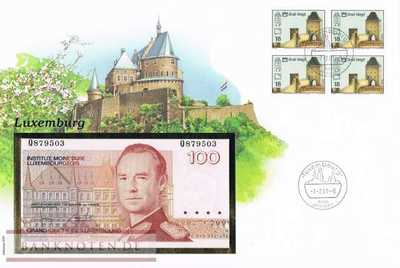 Banknote Cover Luxemburg - 100  Francs (#LUX01_UNC)