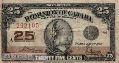 Canada - 25  Cents (#011b_F)