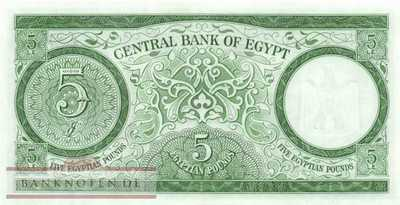 Egypt - 5  Pounds (#039a-63_UNC)
