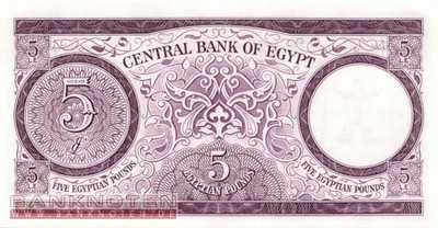 Egypt - 5  Pounds (#040-64_UNC)