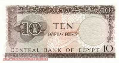 Egypt - 10  Pounds (#041-64_UNC)
