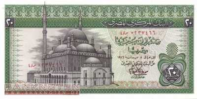 Egypt - 20  Pounds (#048-76_UNC)