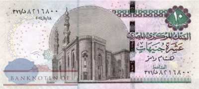 Egypt - 10  Pounds (#073-14_UNC)