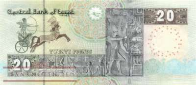 Ägypten - 20  Pounds (#074-16_UNC)