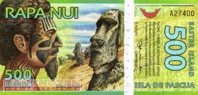 Easter Island - 500  Rongo - plastic (#A5_UNC)