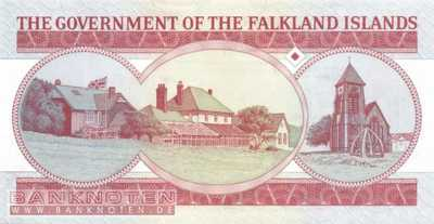 Falkland Islands - 5  Pounds (#017a_UNC)