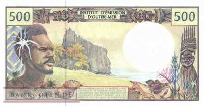 French Pacific Territories - 500  Francs (#001g_UNC)
