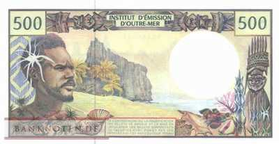 French Pacific Territories - 500  Francs (#001h_UNC)