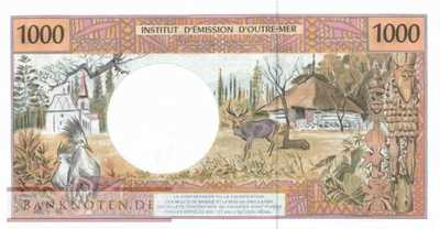 French Pacific Territories - 1.000  Francs (#002l_UNC)