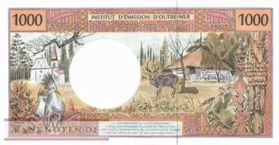 French Pacific Territories - 1.000  Francs (#002m_UNC)
