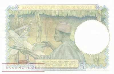 French West Africa - 5  Francs (#025-4204_VF)
