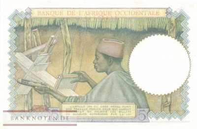 French West Africa - 5  Francs (#026_UNC)