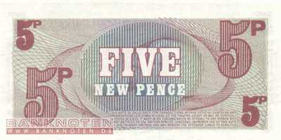 Great Britain - 5 New Pence (#M047_UNC)