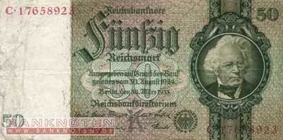 Germany - 50  Reichsmark (#0175b_VF)