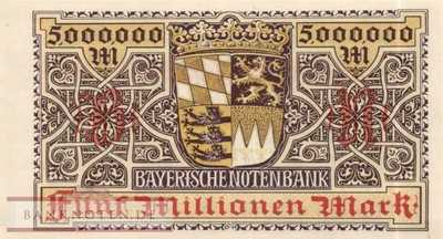 Germany - 5 Million Mark (#BAY-013b_UNC)