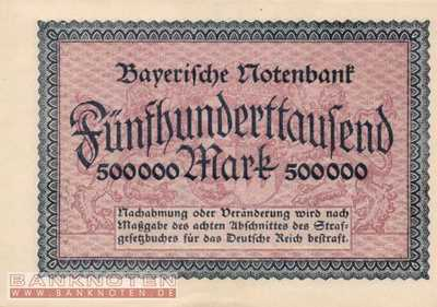 Bayern - 500.000  Mark (#BAY011_UNC)