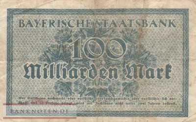Germany - 100 Milliarden Mark (#BAY230a_F)