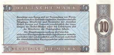 Deutschland - Bethel - 10  Mark (#BET05_UNC)