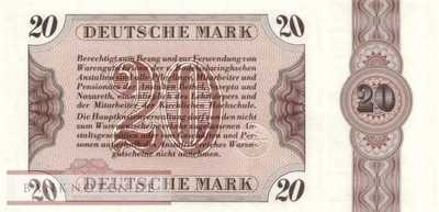 Deutschland - Bethel - 20  Mark (#BET06_UNC)