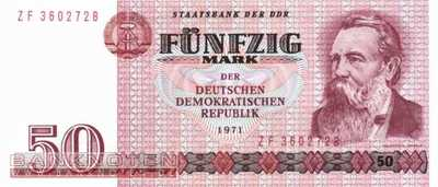 Germany - 50  Mark - Replacement (#DDR-22d_UNC)