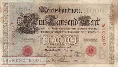 Germany - 1.000  Mark (#DEU-019_VF)