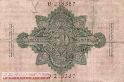 Germany - 50  Mark (#DEU-022a_F)