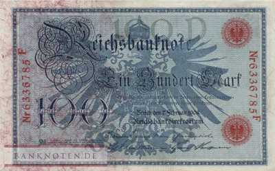 Germany - 100  Mark (#DEU-031b_AU)