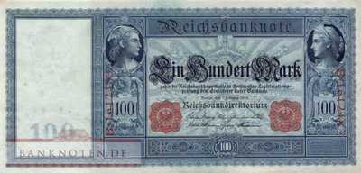 Germany - 100  Mark (#DEU-032_AU)