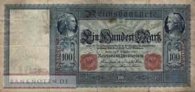 Germany - 100  Mark (#DEU-035_F)