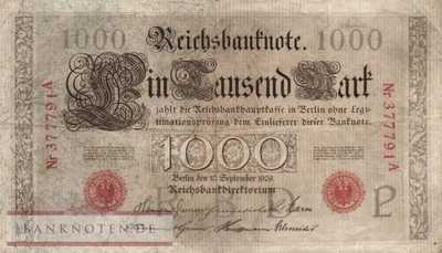 Germany - 1.000  Mark (#DEU-036_VF)