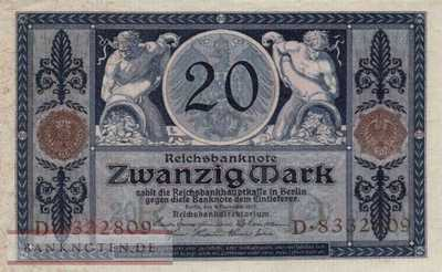 Germany - 20  Mark (#DEU-042_UNC)