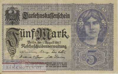 Germany - 5  Mark (#DEU-061b_VF)