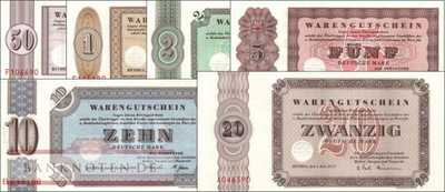 Germany - Bethel: 50 Pfennig - 20 Mark (6 banknotes)