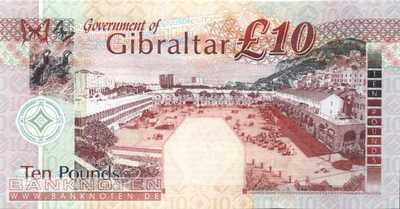 Gibraltar - 10  Pounds (#030_UNC)