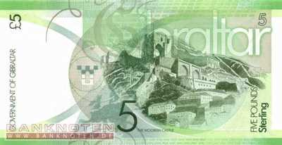 Gibraltar - 5  Pounds (#035_UNC)
