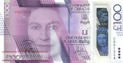 Gibraltar - 100  Pounds - polymer (#040_UNC)