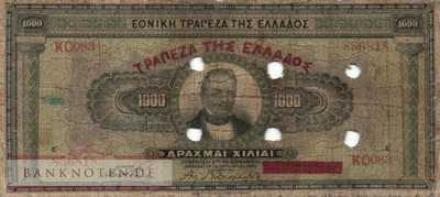 Greece - 1.000  Drachmai (#115a_VG)