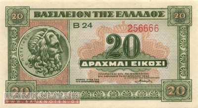 Greece - 20  Drachmai (#315_UNC)