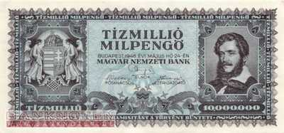 Hungary - 10 Million Milpengö (#129_AU)