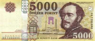 Hungary - 5.000  Forint (#205a_UNC)