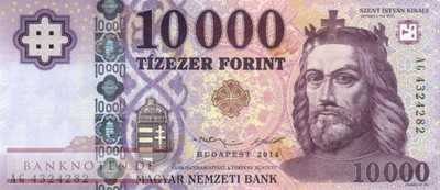Hungary - 10.000  Forint (#206a_UNC)