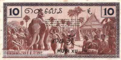 Indochina - 10  Cents (#085d_XF)