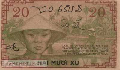 Indochina - 20  Cents (#086d_AU)
